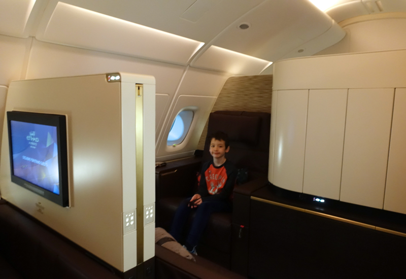 Apartment 4K, Etihad First Class Apartment A380 Review