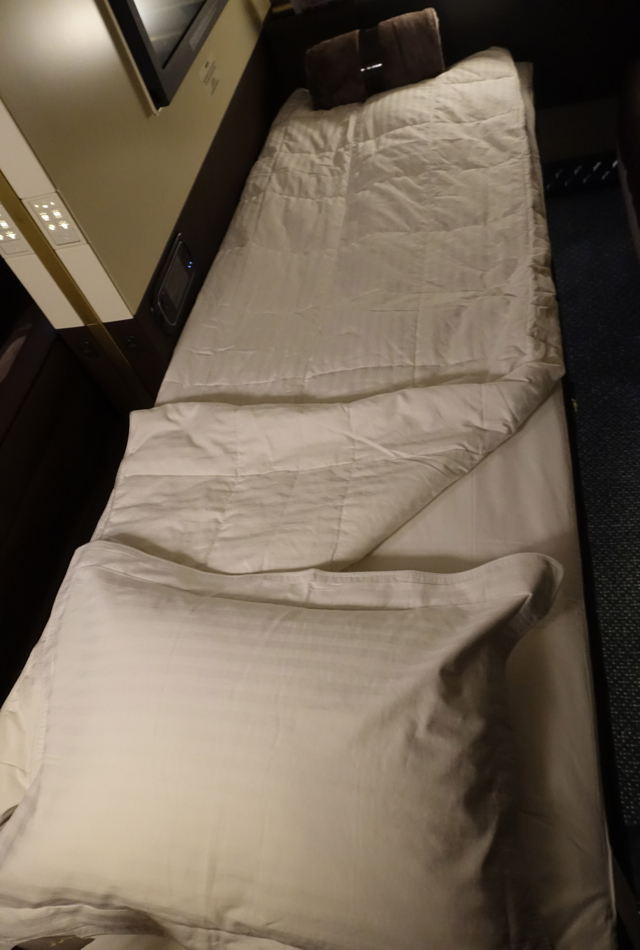 Etihad First Apartment Bed, A380 Review