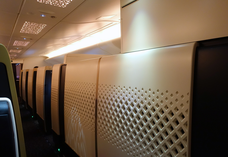 Etihad First Class Cabin, A380 Review