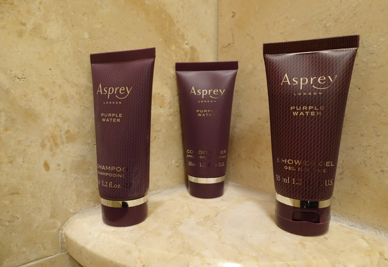 Asprey Bath Products, Ritz-Carlton Boston Review