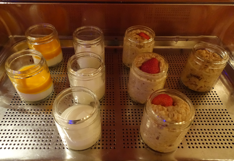 Yogurt and Muesli, Club Lounge, Ritz-Carlton Boston Review