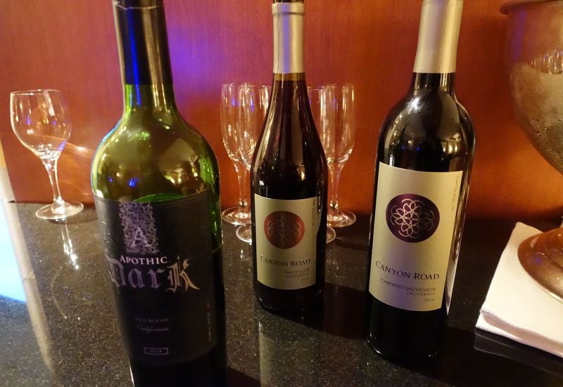Red Wines, Ritz-Carlton Boston Club Lounge Review