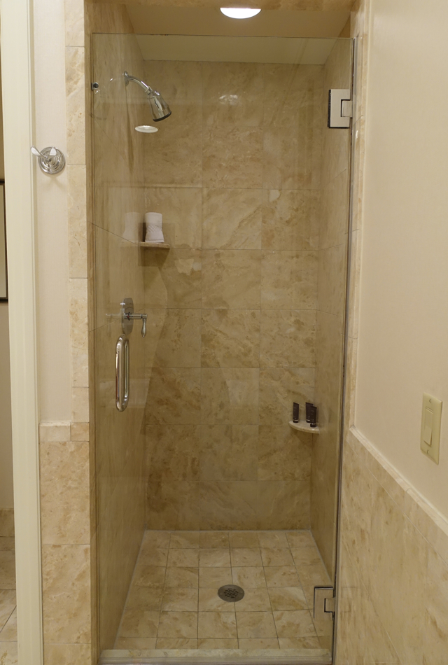 Deluxe Room Shower, Ritz-Carlton Boston Review