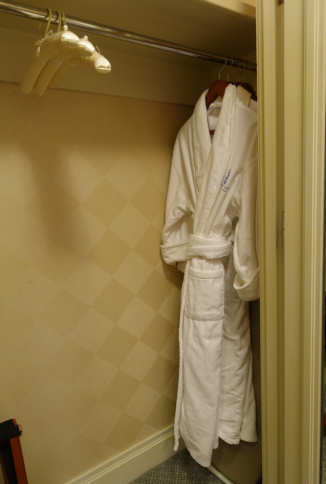 Closet and Bathrobes, Ritz-Carlton Boston Review