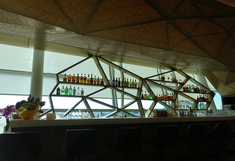 Bar, Etihad Lounge New York JFK Review