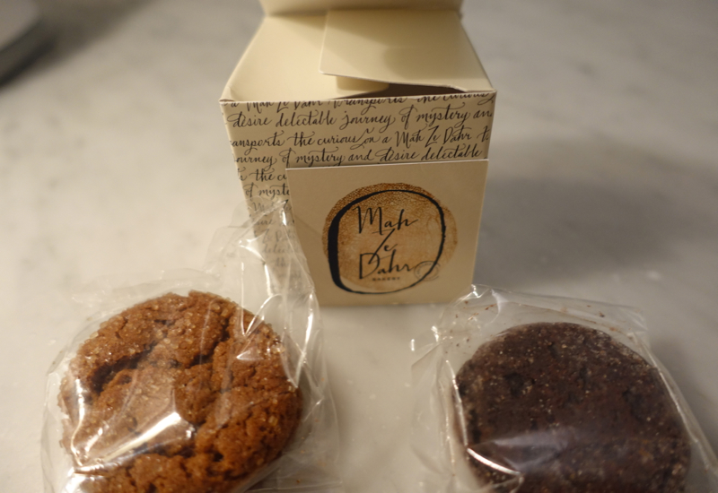 Cookies from Mah-Ze-Dahr, JetBlue Mint Review