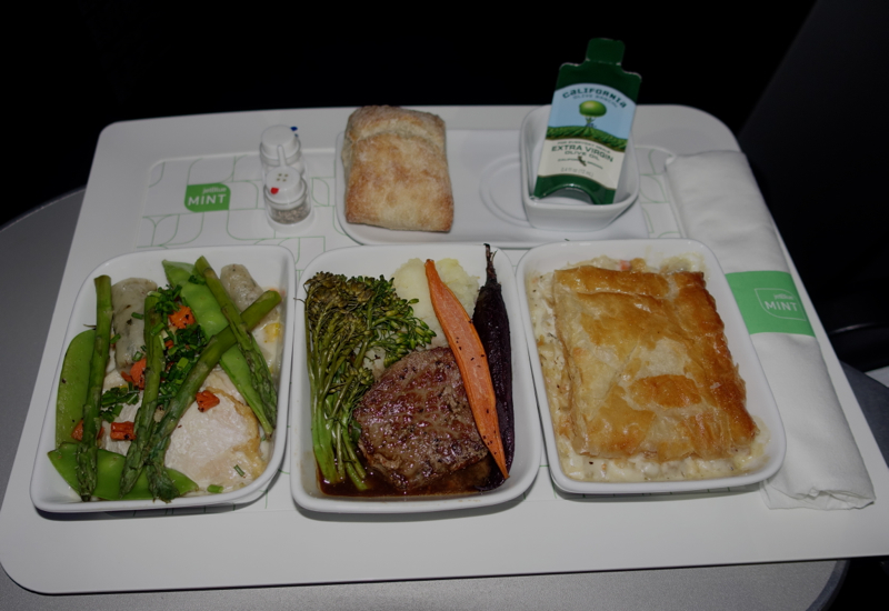 Saxon + Parole Food, JetBlue Mint A321 Review
