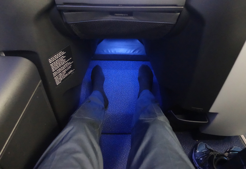 Review: JetBlue Mint Suite 2A Legroom