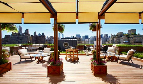 Rooftop Garden, Surrey Hotel, NYC