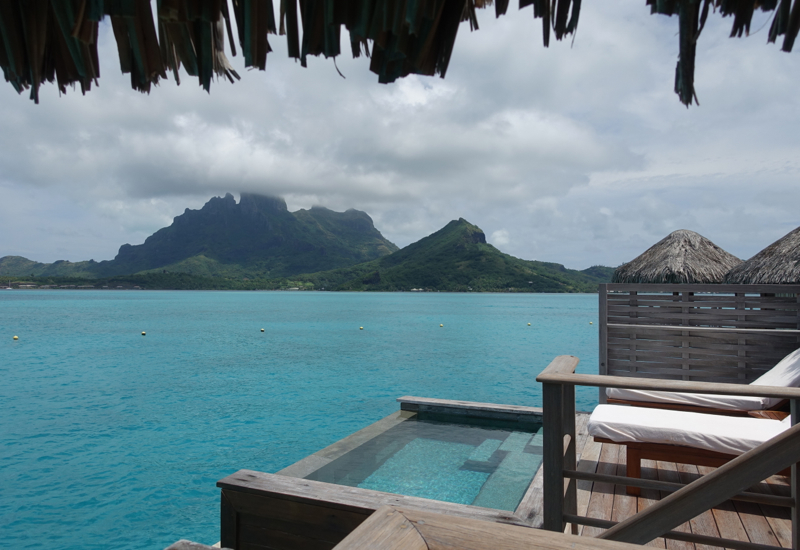 Overwater Bungalow with Pool and a View