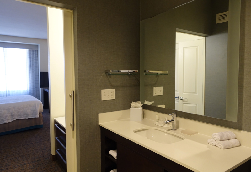 Bathroom, Residence Inn LAX Airport Review