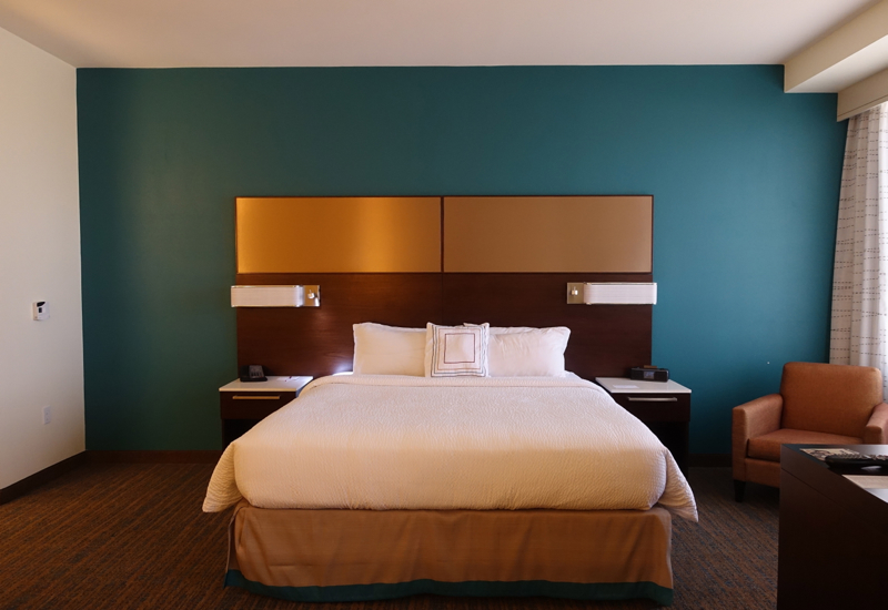 King Bed, Residence Inn LAX Airport Review