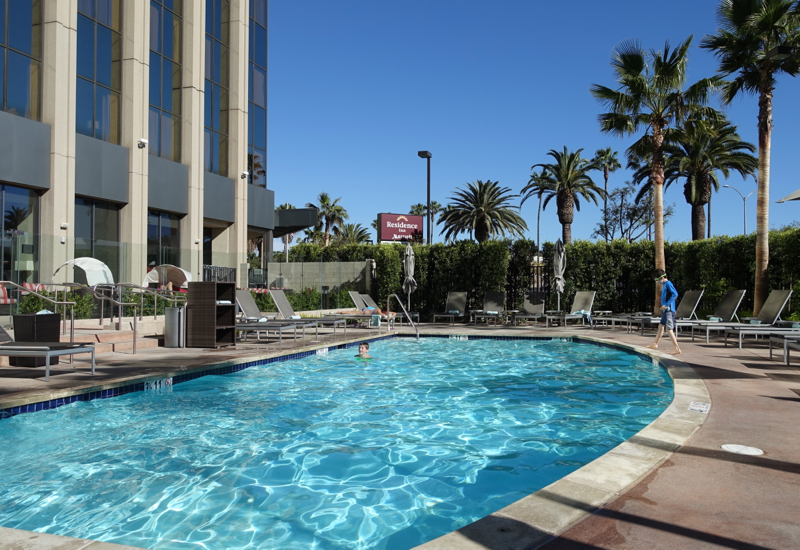 Outdoor Swimming Pool, Residence Inn LAX Airport Review