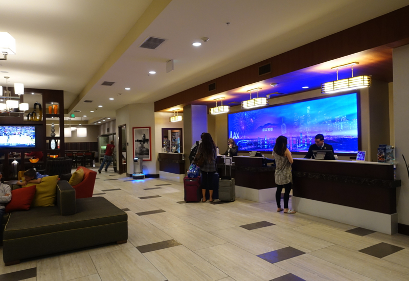 Review: Residence Inn LAX Airport-Reception