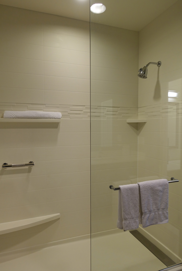 Shower, Residence Inn LAX Airport Review