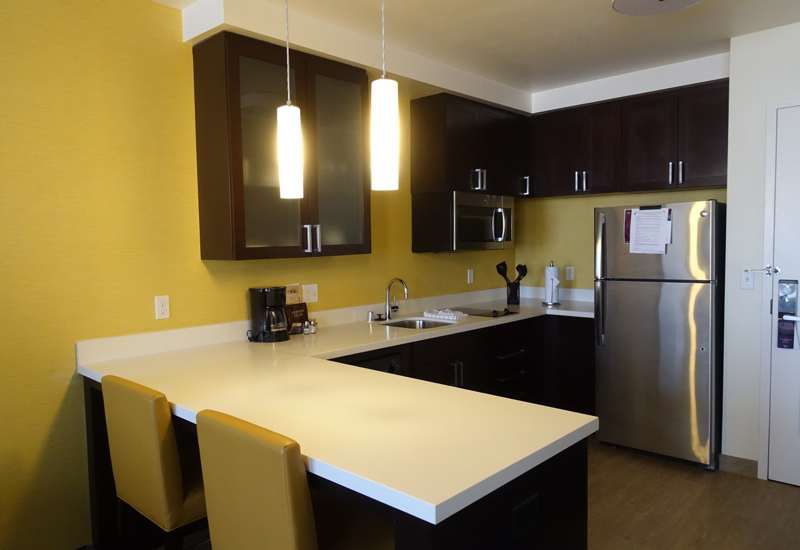 Studio Kitchen, Residence Inn LAX Airport Review