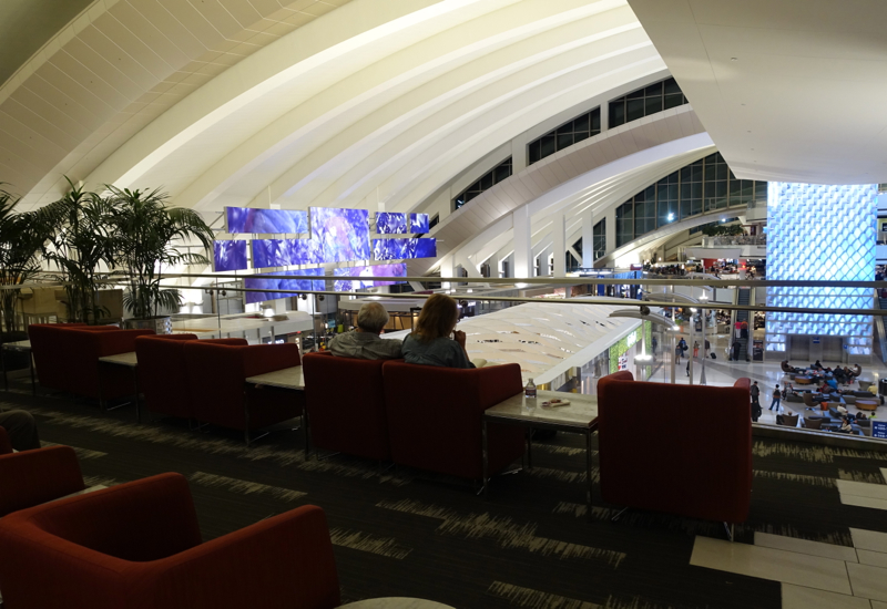 Review: Los Angeles International Lounge LAX TBIT
