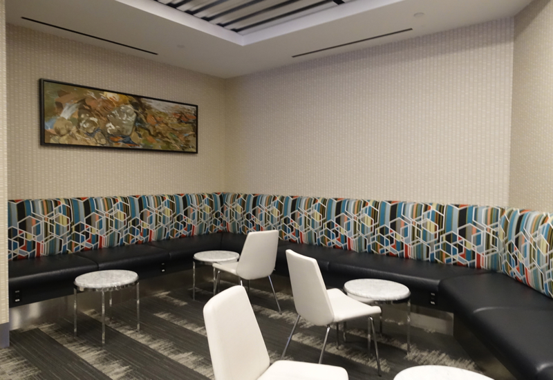 Seating, Los Angeles International Lounge Review LAX