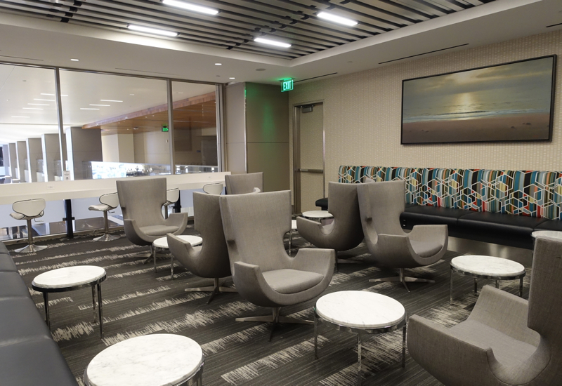 Seating, Los Angeles International Lounge Review, LAX TBIT