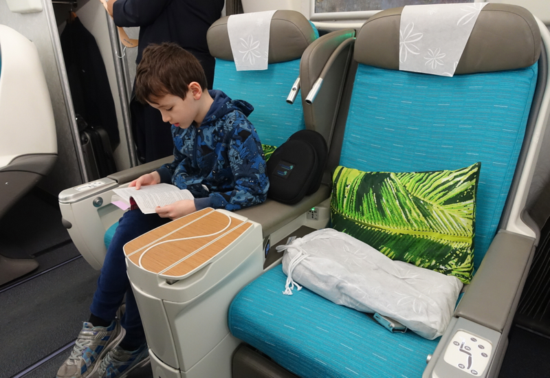 Air Tahiti Nui Business Class Seat Review