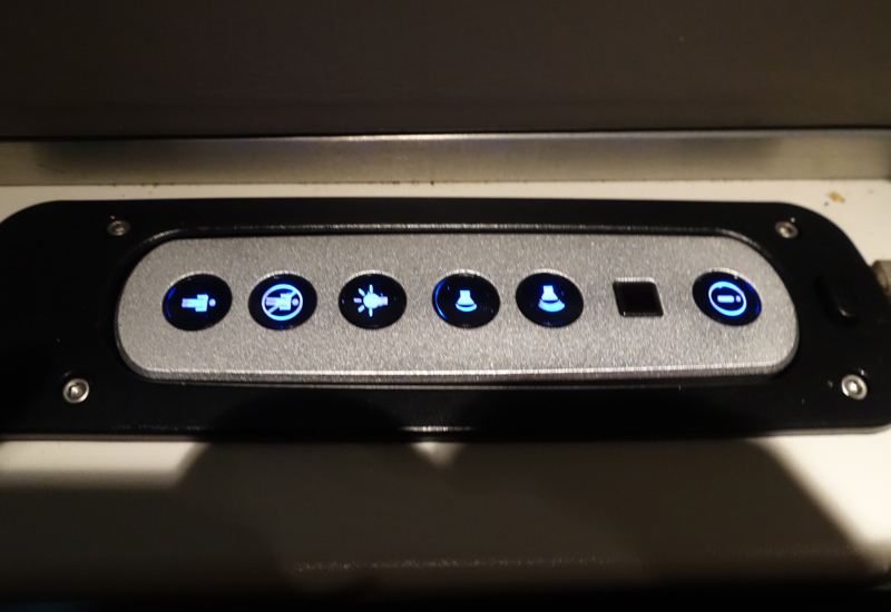 Air Tahiti Nui Business Class Light Control Review