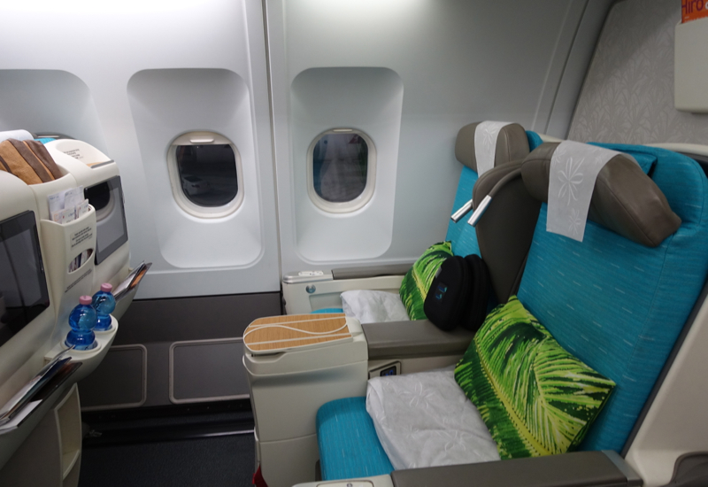 Air Tahiti Nui Business Class Review Seat Selection