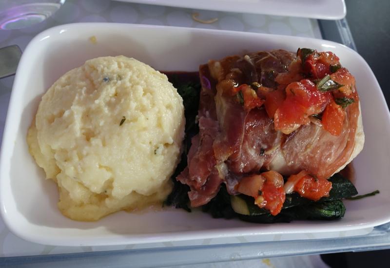 Best Premium Economy: Delicious Meal