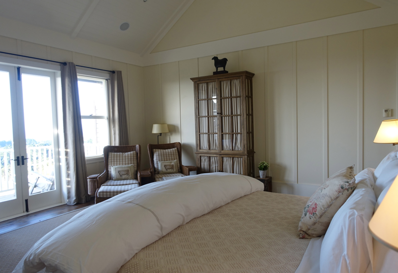 Light-filled Guest Rooms, The Farm at Cape Kidnappers