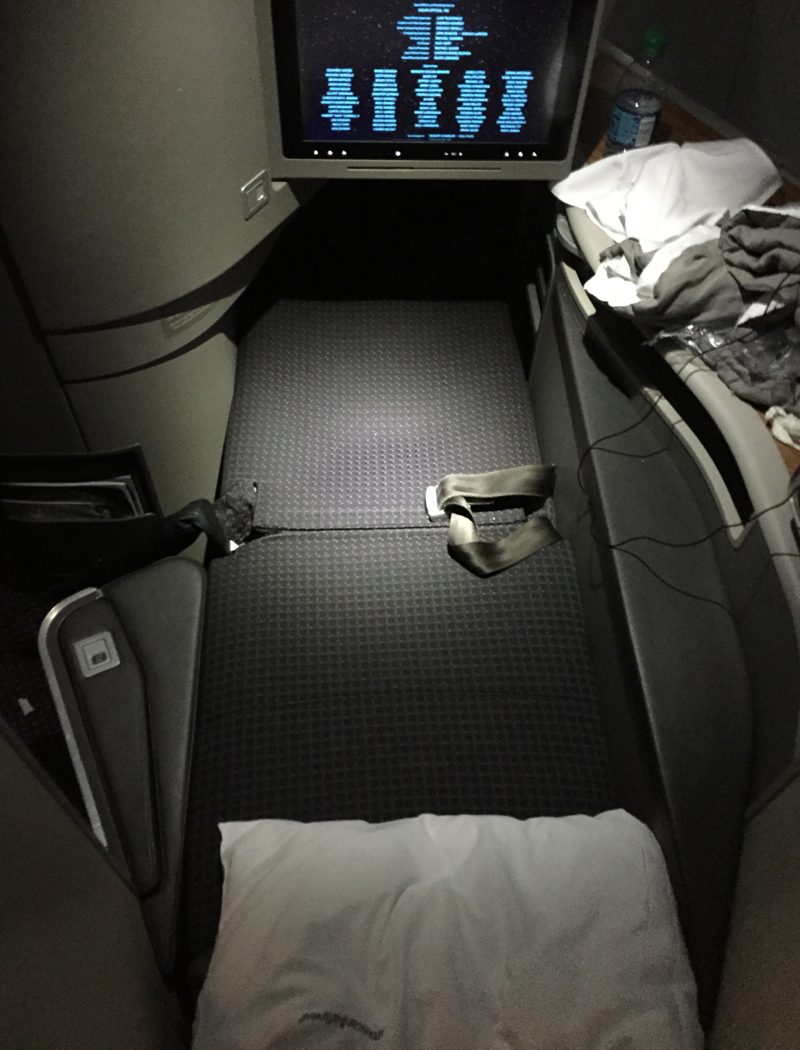 American A321 First Class Flat Bed Seat Sleep Quality Review