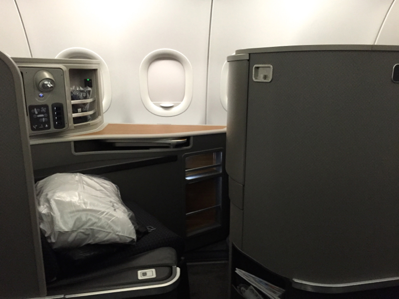 Review: American Airlines A321 First Class