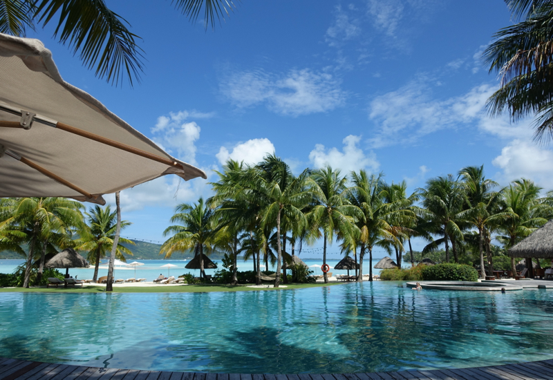 Main Pool, Four Seasons Bora Bora Review