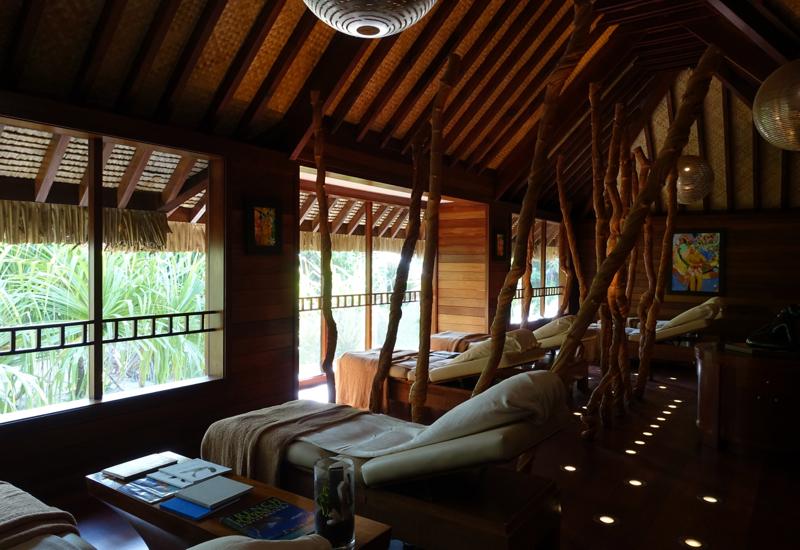 Four Seasons Bora Bora Spa Relaxation Room Review
