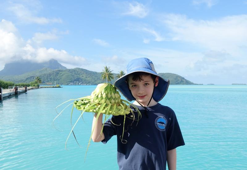 View from Bora Bora Airport