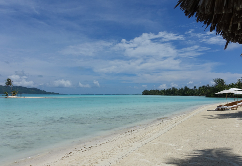Four Seasons Bora Bora Beach Review
