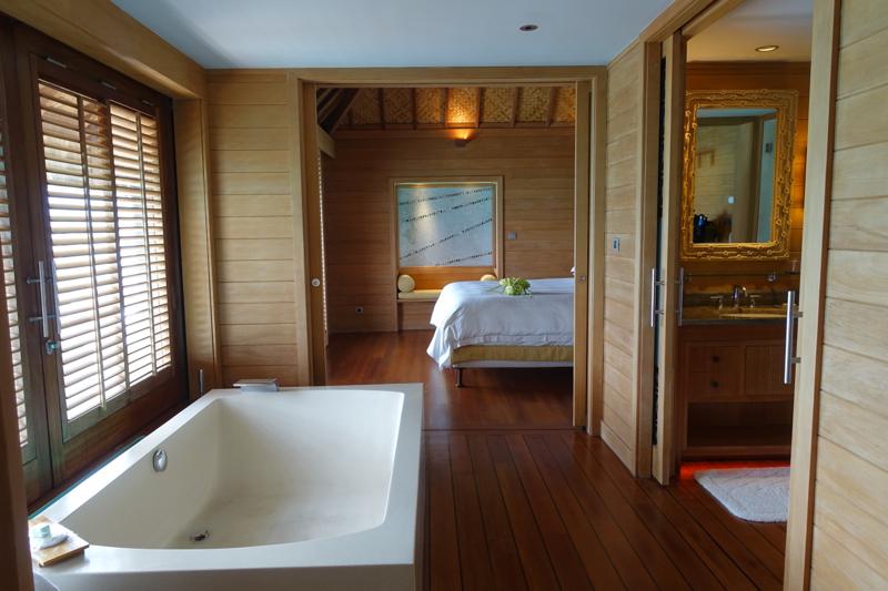 Soaking Tub, Four Seasons Bora Bora Review
