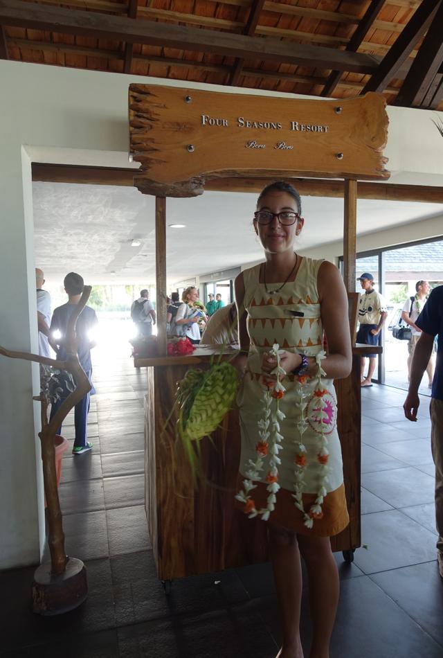 Four Seasons Bora Bora Welcome, Bora Bora Airport