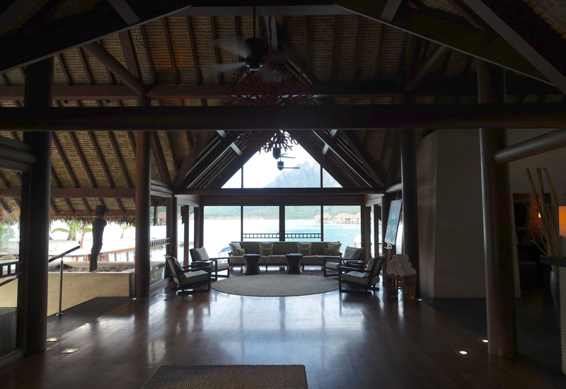 Four Seasons Bora Bora Lobby Review