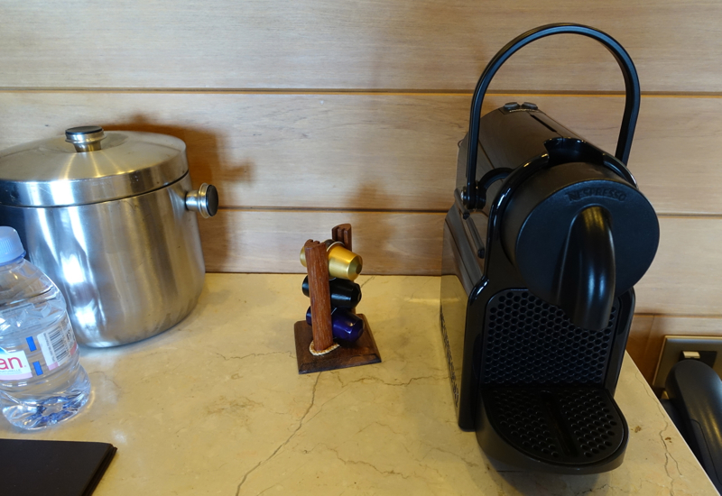 Nespresso Machine, Four Seasons Bora Bora
