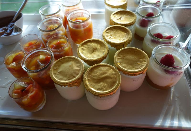 Yogurt at Breakfast, Four Seasons Bora Bora Review
