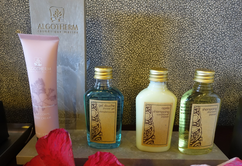 Algotherm Bath Products, InterContinental Bora Bora Review