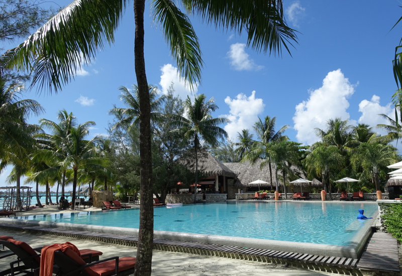 InterContinental Bora Bora Review-Swimming Pool
