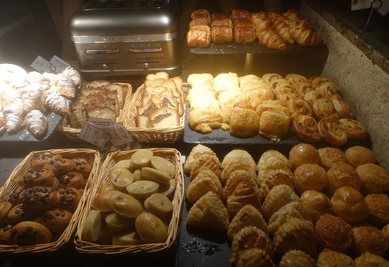 Breakfast Pastries, InterContinental Bora Bora Thalasso Review