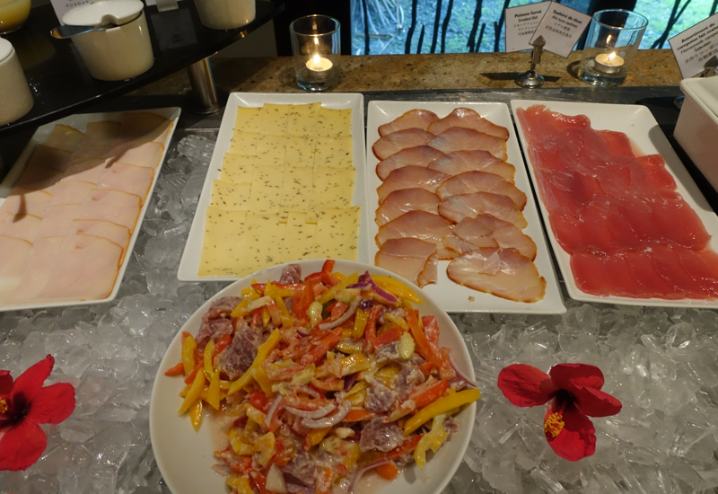 InterContinental Bora Bora Breakfast Buffet Review-Sashimi