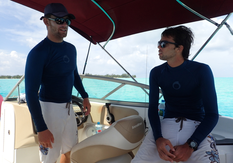 Pure Snorkeling Review Bora Bora: Guides Quentin and Guillaume