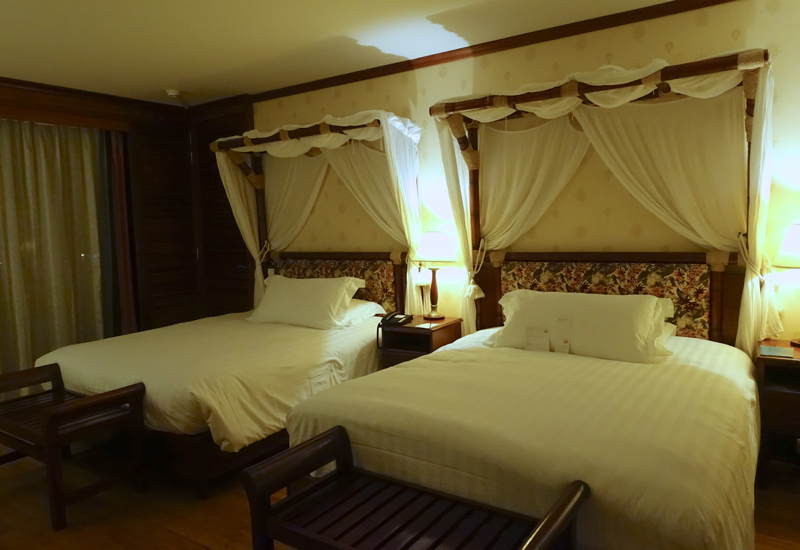 InterContinental Tahiti Review-Panoramic Lagoon View Room with 2 Queen Beds