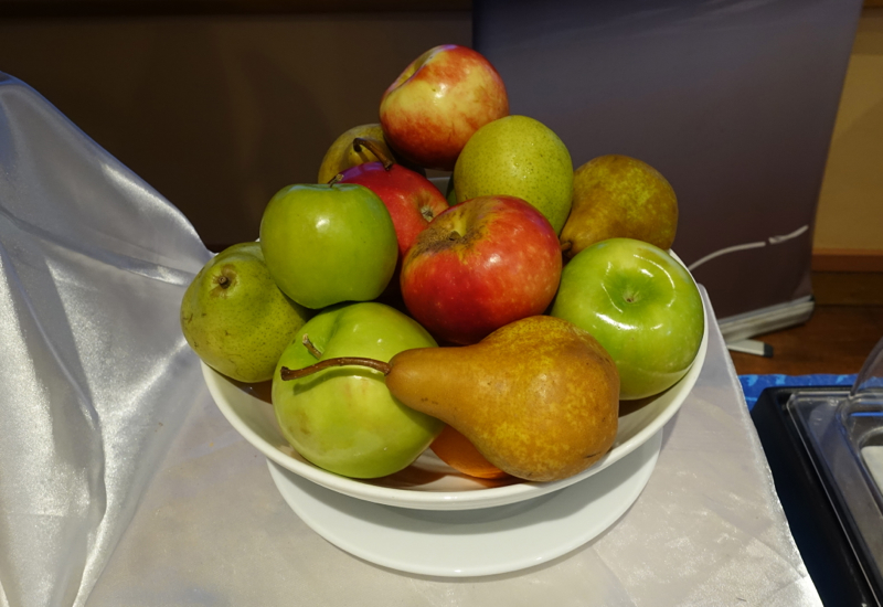 Fresh Fruit, Papeete Airport Business Class Lounge Review