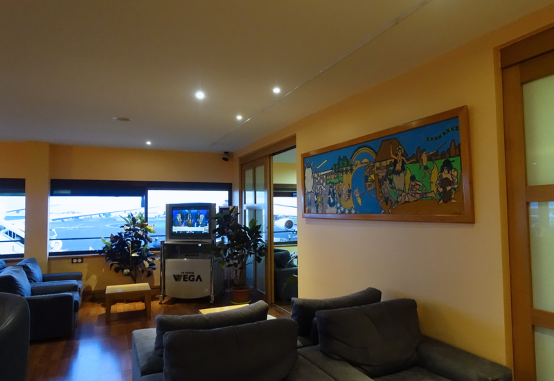 Papeete Airport Business Class Lounge Review-Seating