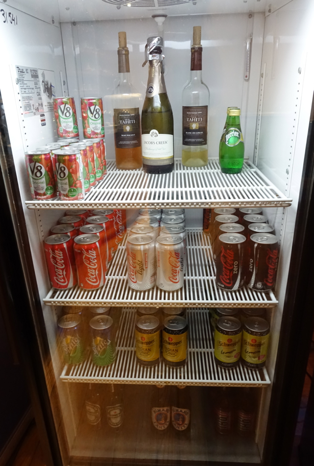 Wine, Beer, Soda: Papeete Business Class Lounge Review
