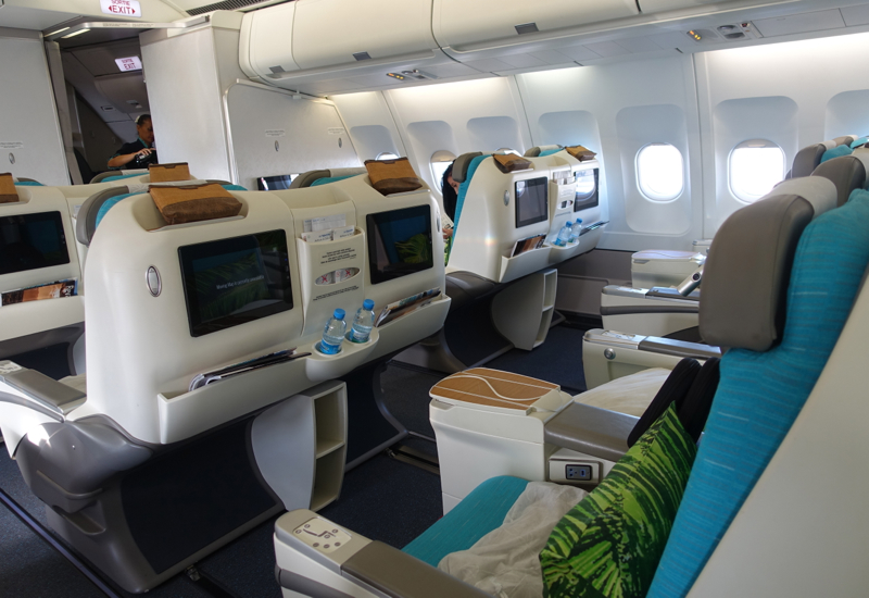 Air Tahiti Nui Business Class Review-Business Class Cabin