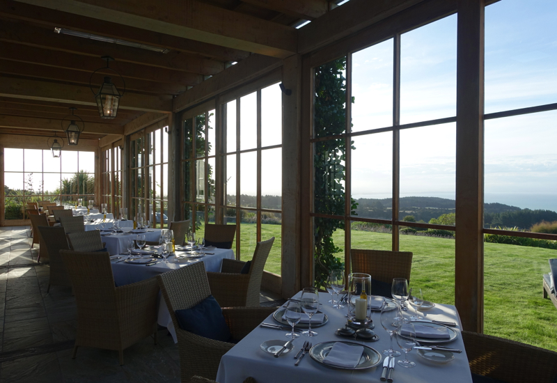 The Dining Room at The Farm at Cape Kidnappers Review